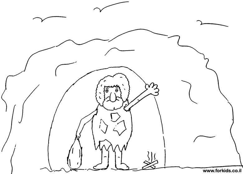 איש מערות לצביעה