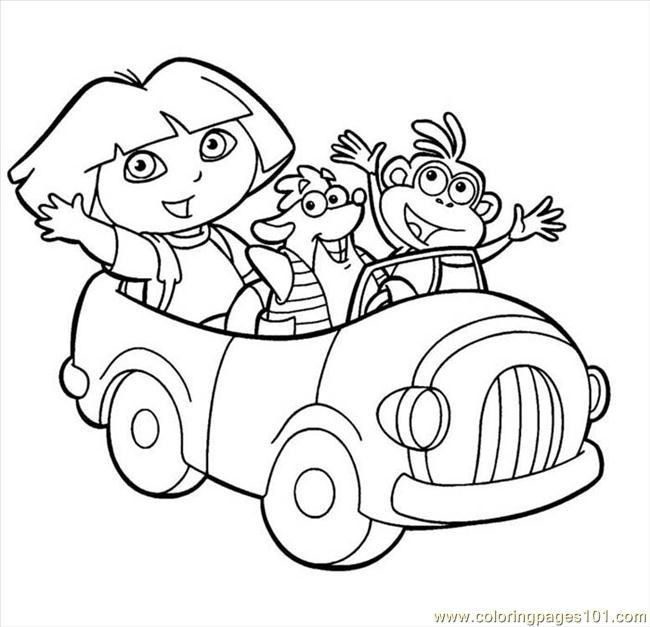דורה ובוץ ברכב לצביעה