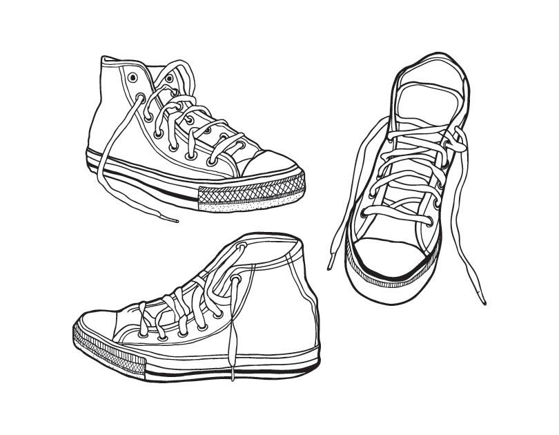 נעלי ספורט לצביעה