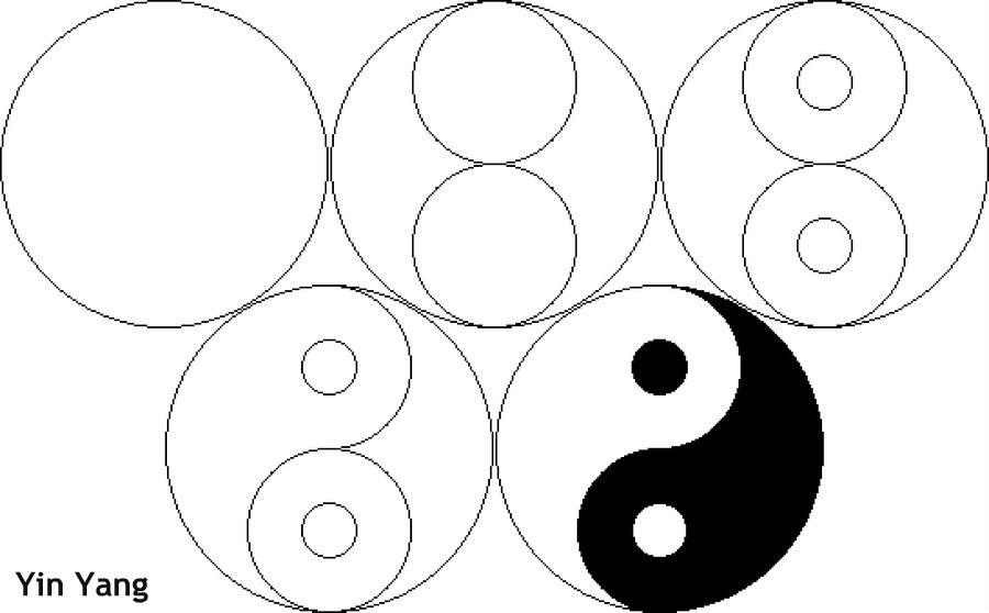 איך לצייר ין יאנג