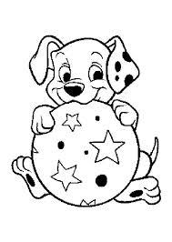 כלב וכדור לצביעה