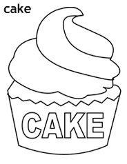 עוגה לצביעה